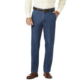 Stretch Denim Trouser, Medium Blue