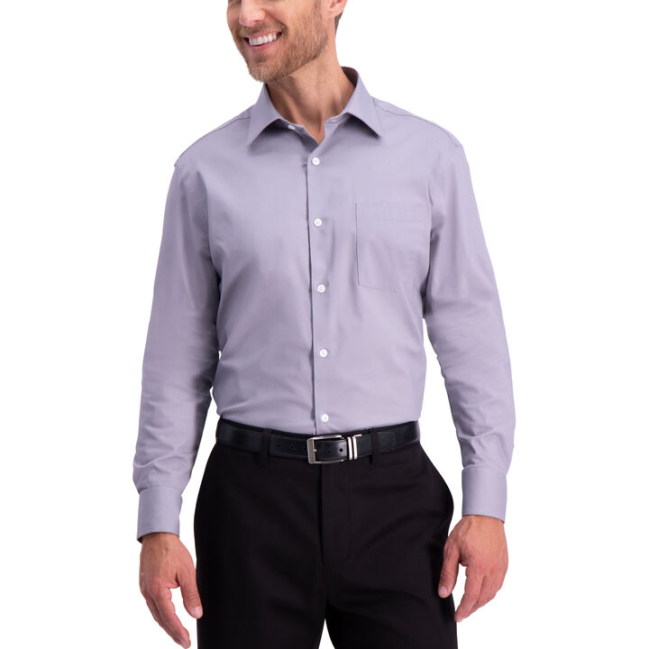 Premium Comfort Dress Shirt,  Cement