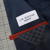 J.M. Haggar Premium Heather Grid Sport Coat, Light Grey view# 3