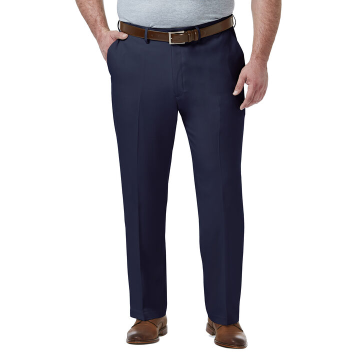 Big & Tall Premium Comfort Dress Pant, Blue