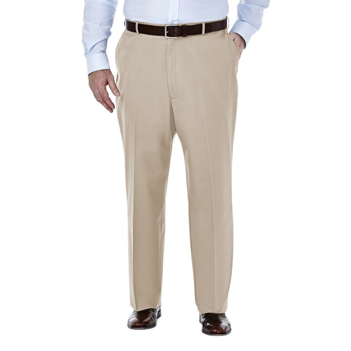 Big & Tall Premium No Iron Khaki, Sand