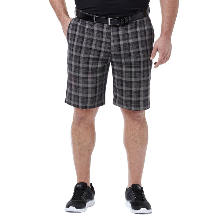 Big & Tall Cool 18® Pro Pinstripe Plaid Short,
