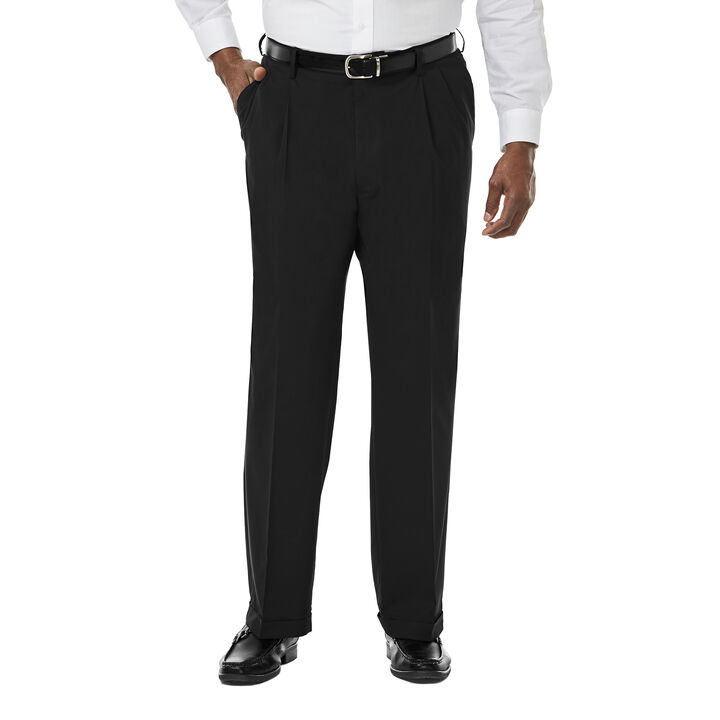 Big & Tall Premium Stretch Dress Pant, Black