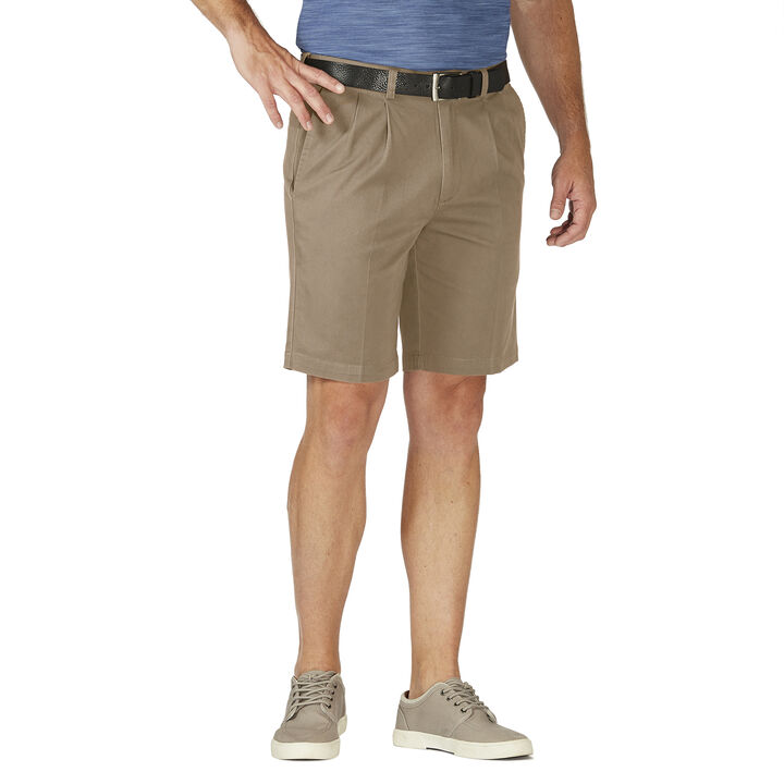 Stretch Chino Short, Khaki open image in new window
