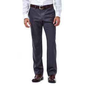 Performance Microfiber Slacks, Heather, Medium Grey