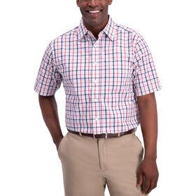Plaid Button Down Shirt, Red