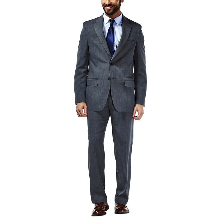 Travel Performance Suit Separates Jacket, Graphite
