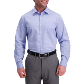 Light Blue Premium Comfort Dress Shirt, Light Blue