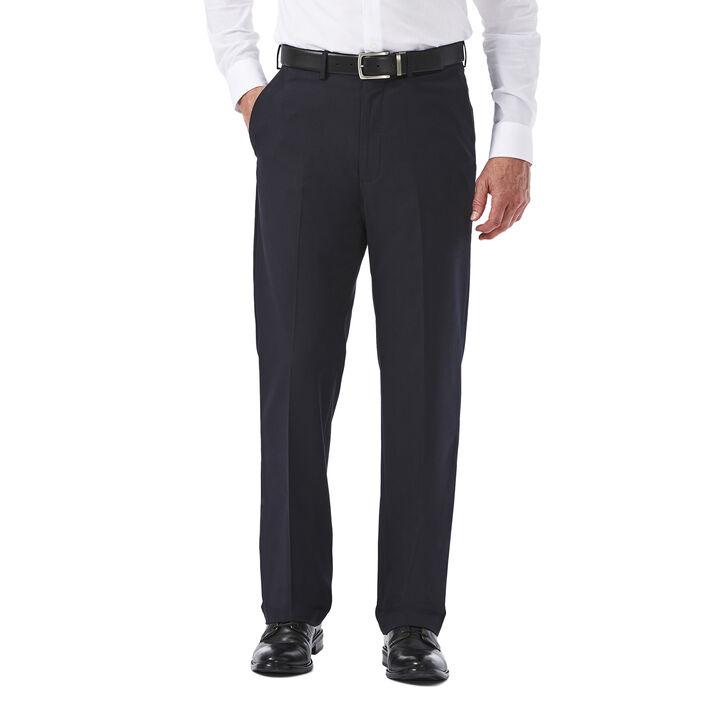 Big & Tall Premium Stretch Solid Dress Pant, Navy