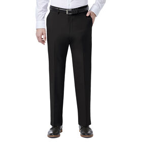 JM Haggar 4 Way Stretch Dress Pant, Black