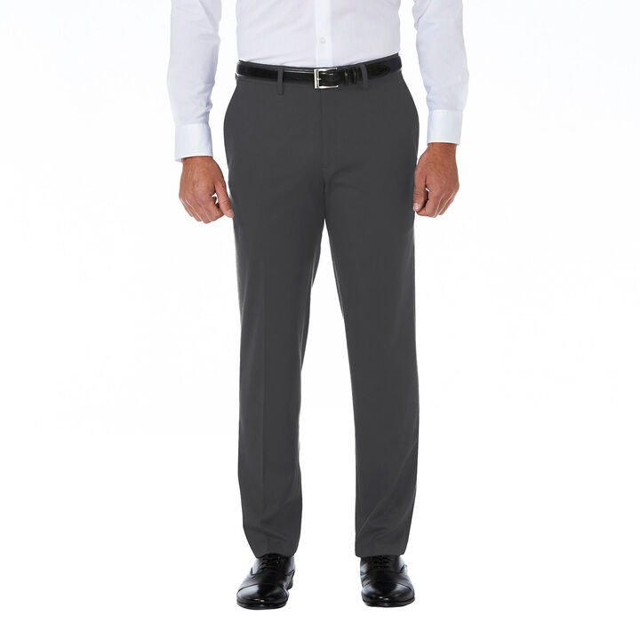 J.M. Haggar Premium Stretch Shadow Check Suit Pant,  Charcoal open image in new window