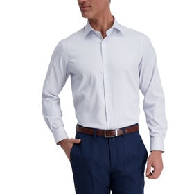 J.M. Haggar Tech Performance Dress Shirt - Check, Sky