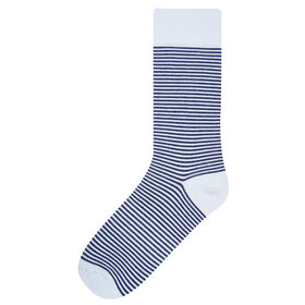 Catalonia Stripe Socks, Black
