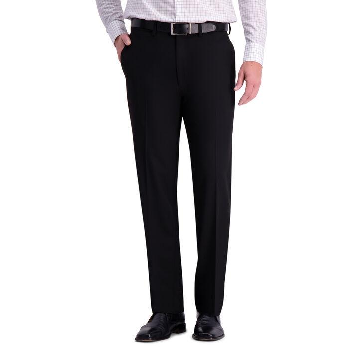 J.M. Haggar 4-Way Stretch Suit Pant, Black