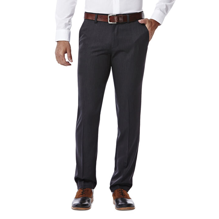 Performance Microfiber Slacks, Heather,