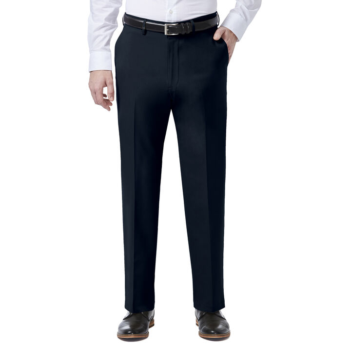 JM Haggar 4 Way Stretch Dress Pant, Indigo