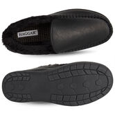 Smooth Venitian Slippers, Black view# 3