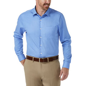 Fitted Dress Shirt, Euro Blue