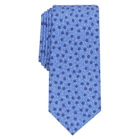 Kyree Floral Tie, Blue