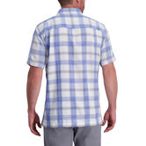 Exploded Plaid Microfiber Shirt, Blue Tattoo 2