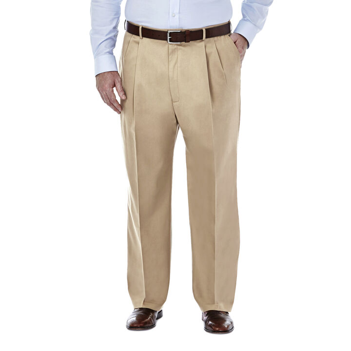 Big & Tall Premium No Iron Khaki, Khaki