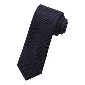 Micro Dot Tie, Navy