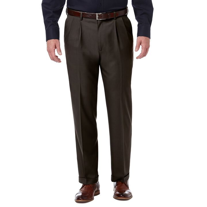 Premium Comfort Dress Pant, Dark Chocolate open image in new window