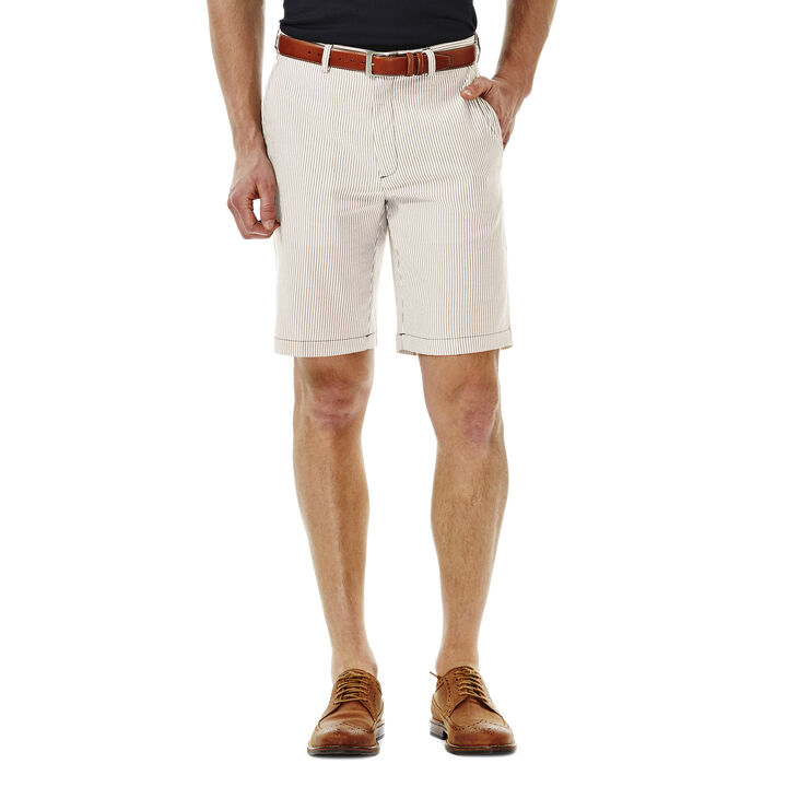 Cool 18® Seersucker Stripe Short,