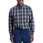 Classic Plaid Shirt, Navy 1