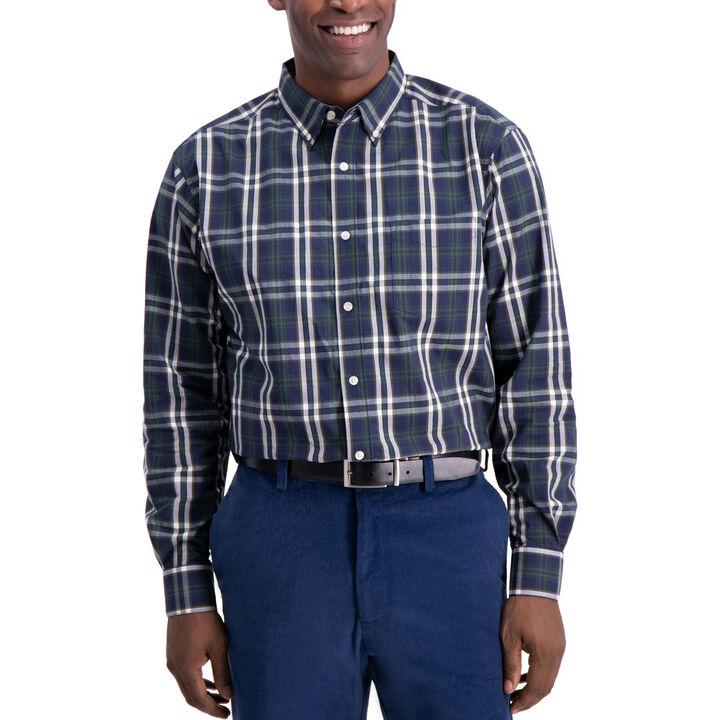 Classic Plaid Shirt, Navy