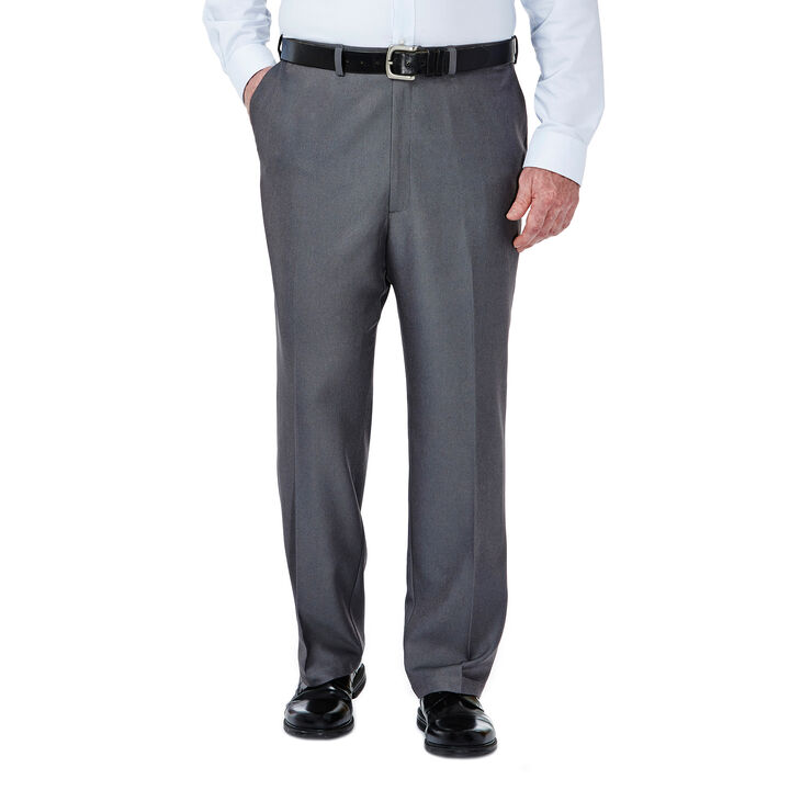 Big & Tall Cool 18® Heather Solid Pant, Heather Grey open image in new window