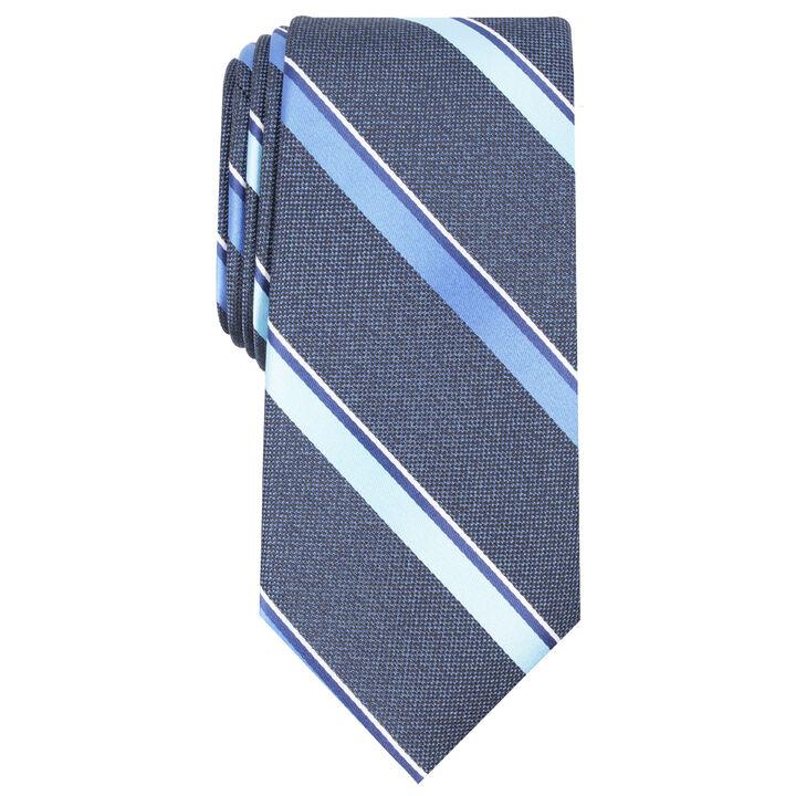 Rothbury Stripe Tie, Navy