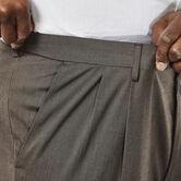 Big & Tall Premium Stretch Dress Pant, Medium Brown 4