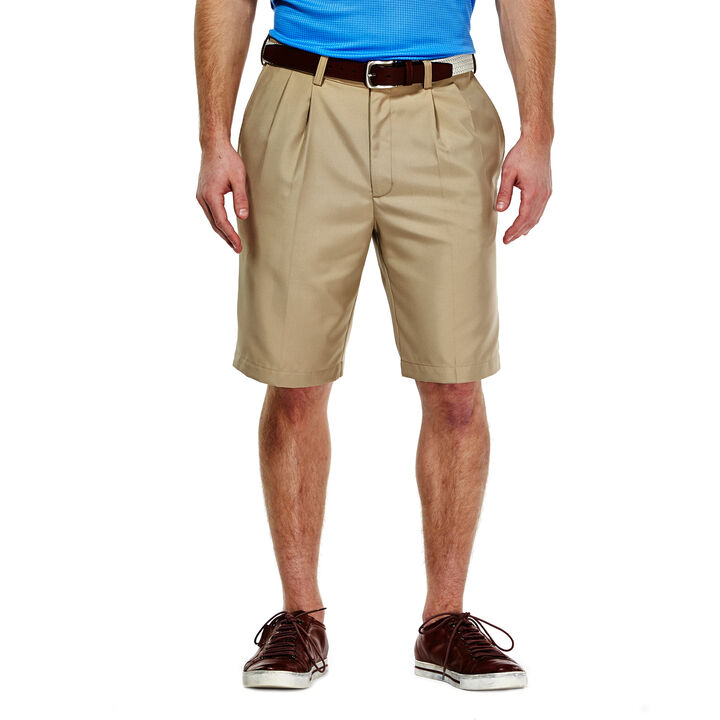 Cool 18® Oxford Short, Tan open image in new window