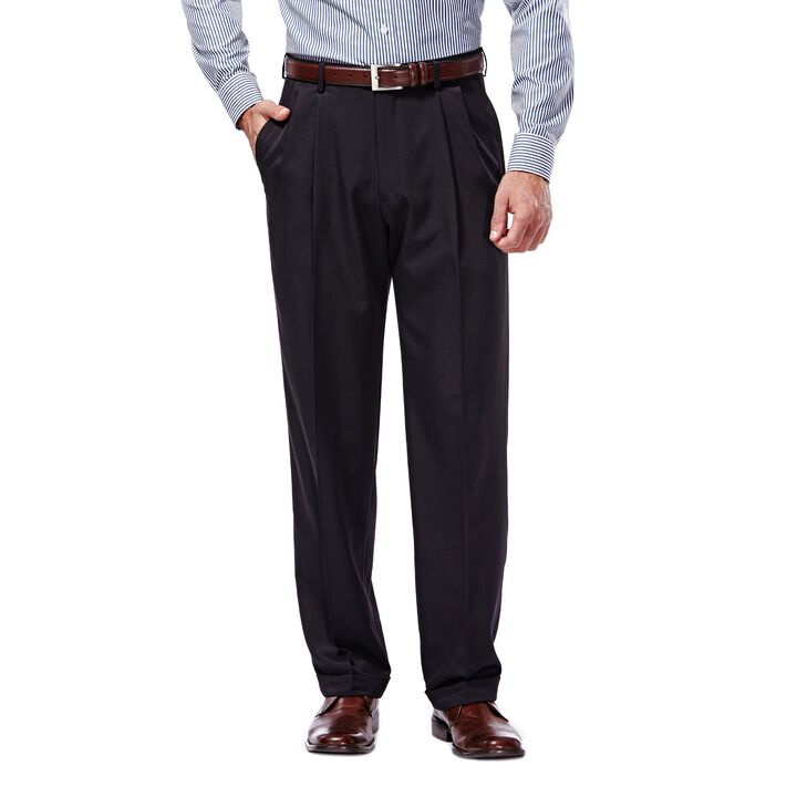 Mynx Gabardine Dress Pant, Navy open image in new window