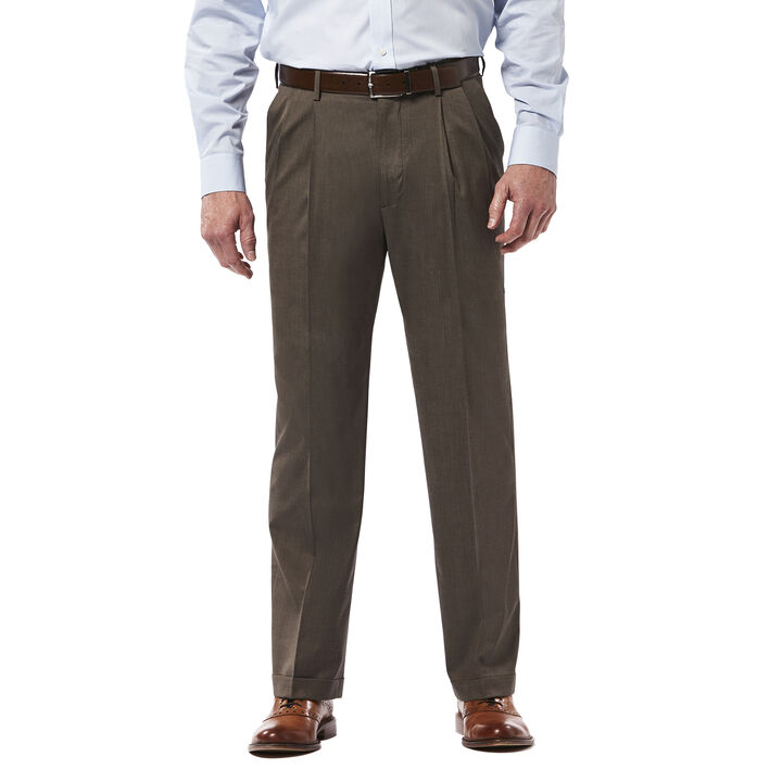 Premium Stretch Dress Pant, Medium Brown open image in new window