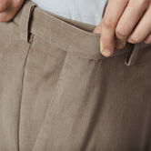 Stretch Corduroy Pant, Khaki view# 4
