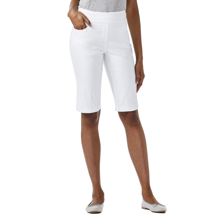 Flatten It Bermuda Short,  White