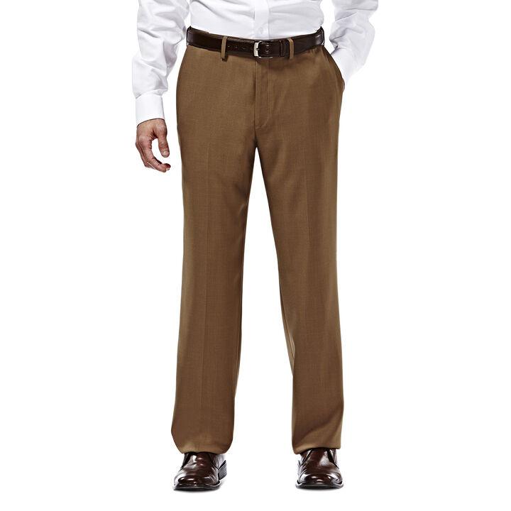 E-CLO™ Stria Dress Pant, Mocha