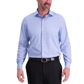 Solid J.M. Haggar Tech Performance Dress Shirt,