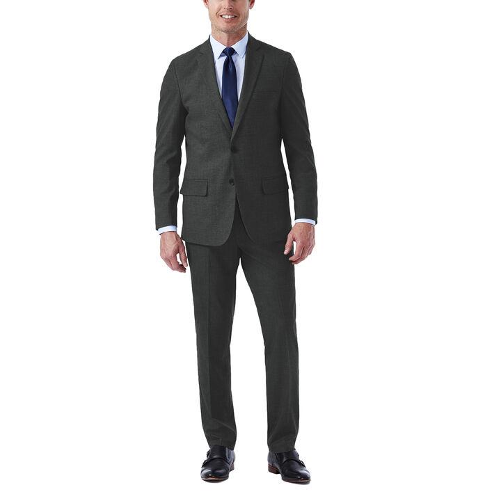 J.M. Haggar Premium Stretch Suit Jacket, Medium Grey, hi-res