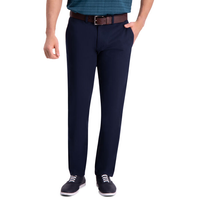 Premium Comfort Khaki Pant, Dark Navy open image in new window
