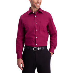 Premium Comfort Dress Shirt, Red