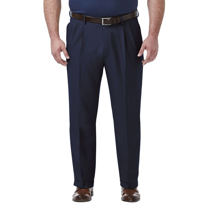 Big & Tall Premium Comfort Dress Pant, Blue open image in new window