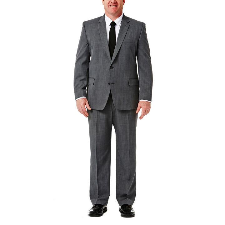 Big & Tall Travel Performance Suit Separates, Graphite, hi-res