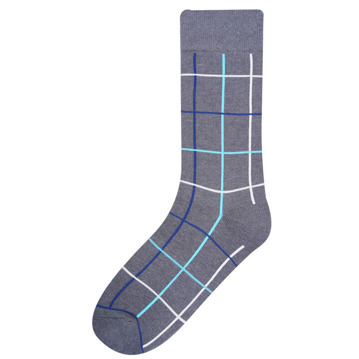 Multi Grid Socks, Bean