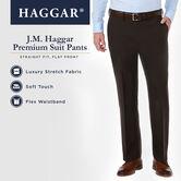 J.M. Haggar Premium Stretch Suit Pant, Dark Heather Grey, hi-res