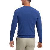 V-Neck Basic Sweater, Cobalt 2