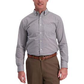 Tattersal Plaid Shirt, True Navy