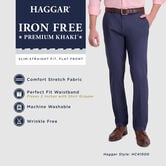 Iron Free Premium Khaki, Heather Grey view# 4